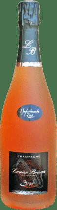 champagne rosé de macération Louise Brison
